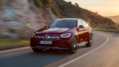 2019 Mercedes-Benz GLC Coupe revealed