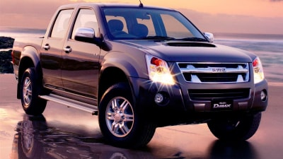 2010 Isuzu D-Max Ute Range Updated