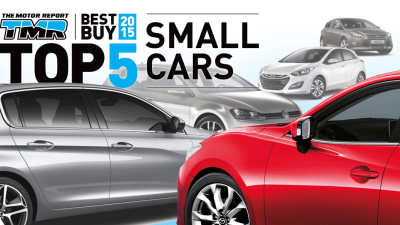 The 'TOP 5' Small Cars For 2015: Mazda3, Golf, 308, i30, Focus