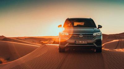 2019 Volkswagen Touareg First International Drive