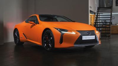 Lexus LC500h 'Matte Prototype' revealed