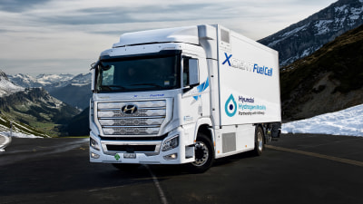 Trucks to lead Hyundai's hydrogen development
