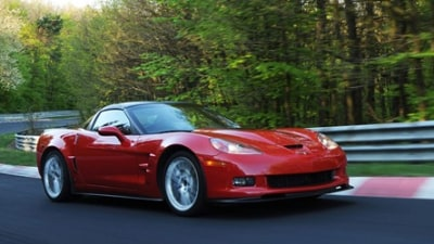 Eye Candy: 2009 Corvette ZR1 at the Nurburgring