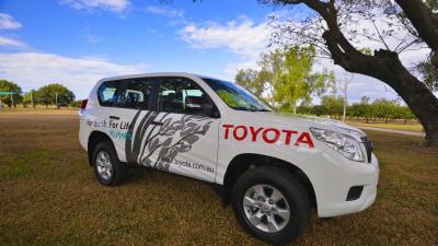 Toyota Australia Donates Diesel Prado For Rice-Growing Trial