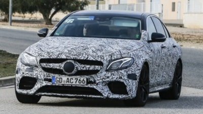 Next-generation E63 AMG to debut burnout mode
