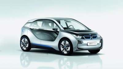 BMW i3 Electric Vehicle Concept Revealed