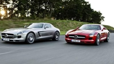 2010 Mercedes-Benz SLS AMG Revealed: First Images Surface