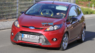 2012 Ford Fiesta XR4 Turbo Spied?