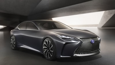 Diesel Outlawed So Lexus To Go Hydrogen Fuel Cell