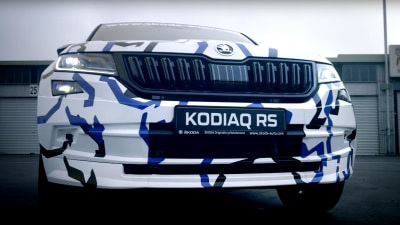 New Skoda Kodiaq RS teased