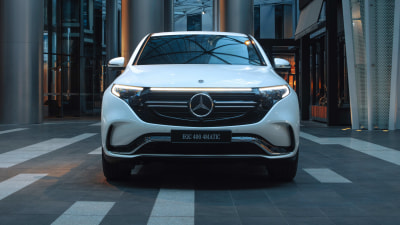 Mercedes-Benz's first electric car will cost $137,900