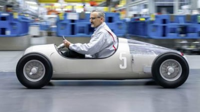Audi Silver Arrow Auto Union Typ C Revived - Thanks To 3D Printing