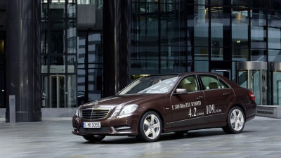 Mercedes-Benz Reveals E 300 Bluetec Hybrid and E 400 Hybrid At Detroit