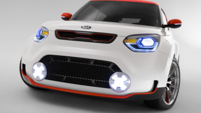 Kia Brings Track'ster Concept And Quoris Sedan To AIMS