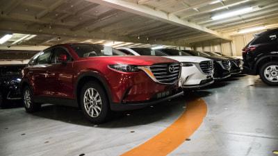 2016 Mazda CX-9 Docks In Australia As Interest Hits Record Levels