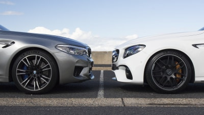 BMW M5 v Mercedes-AMG E63 S comparison review
