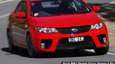 2010 Kia Cerato Koup Road Test Review