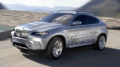 BMW Concept X6 ActiveHybrid debuted at Frankfurt