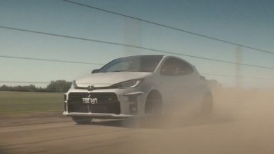 Australian Toyota GR Yaris TV ad pulled after a tiny skid on private property