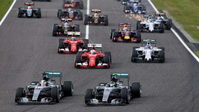 Formula One – Hamilton Streaks To Suzuka Win