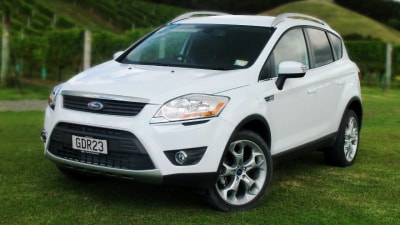 2012 Ford Kuga Titanium First Drive Review