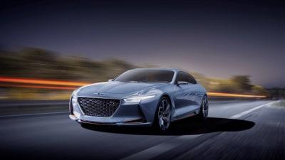 Genesis New York Concept Points To Midsize Hybrid Sports Sedan
