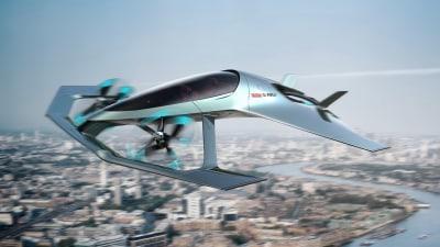 Aston Martin takes to the sky