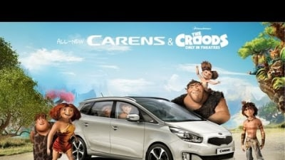 Kia Rondo Gets Crood For Dreamworks