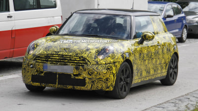 2013 MINI Cooper S Spied, Interior Revealed For First Time