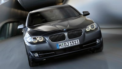 2010 BMW 5 Series Sedan Launched In Australia