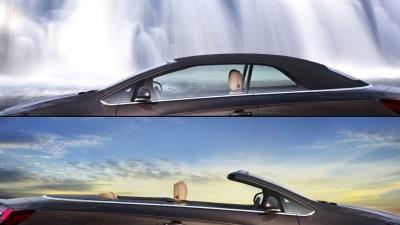 Opel Cascada Cabriolet Teased