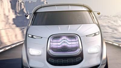 Citroen Tubik Concept Van Ready To Party At Frankfurt