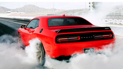 It's Official: Dodge Challenger SRT Hellcat Makes 527kW, 881Nm.