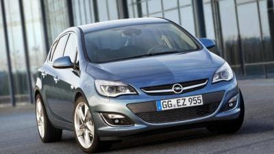 2013 Opel Astra Update Revealed Ahead Of Australian Debut