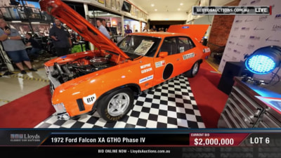 Ford Falcon GTHO Phase IV sold at auction