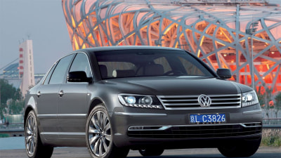 Volkswagen: New Phaeton In 2015