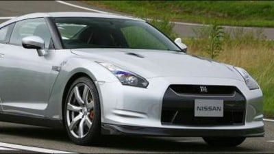 2008 Nissan GT-R official images