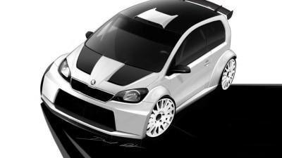 Skoda Citigo Previewed In Rally Suit