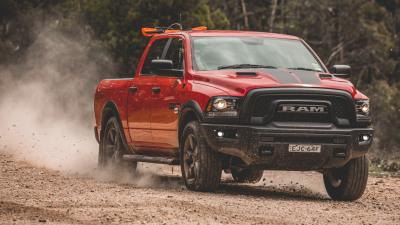 2020 Ram 1500 Warlock off-road review