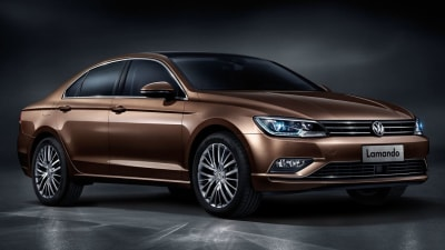 2015 Volkswagen Lamando Revealed: A Jetta CC For China