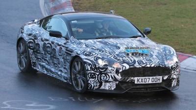 2011 Aston Martin DBS Update Spied Testing