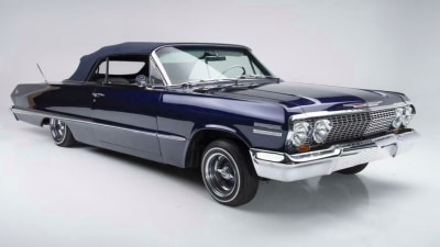 Kobe Bryant's 1963 Chevy Impala is up for auction