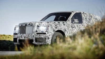 Rolls Royce to begin public testing of Project Cullinan SUV