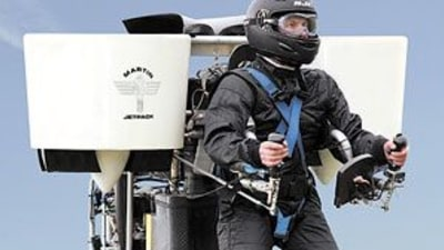 The Martin Jetpack: The Coolest Way To Commute