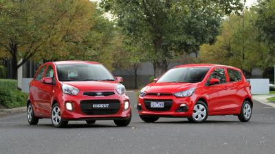 Micro Hatch Showdown - Kia Picanto -v- Holden Spark Comparison Test