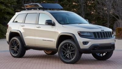 2014 Jeep Mopar Grand Cherokee and Cherokee Moab Safari Concepts