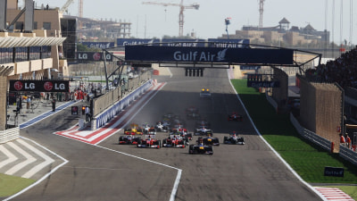 F1 Touches Down In Bahrain For Controversial Race