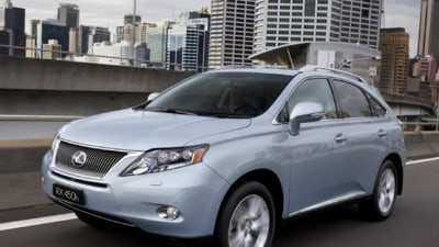 2009 Lexus RX 450h World's Most Efficient Luxury Hybrid SUV, On Sale July 13