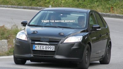 2011 Ford Focus Test Mule Spied In Europe