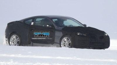 2012 Hyundai Genesis Coupe Spied Testing, Australian Debut Unclear
